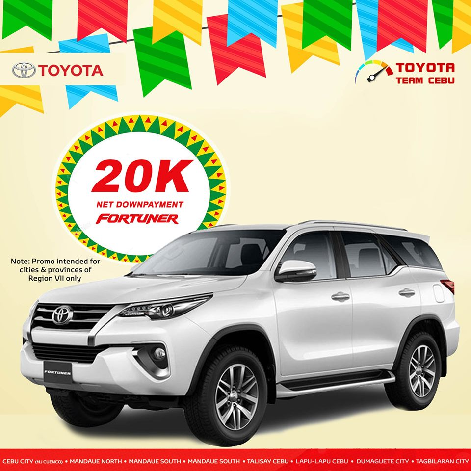 toyota fortuner may 2019 promo