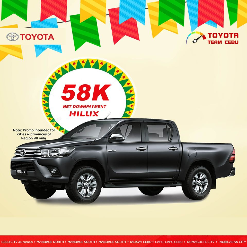 toyota hilux may 2019 promo