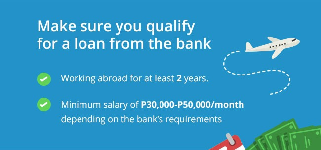 Car loan requirements for Overseas Filipino Worker