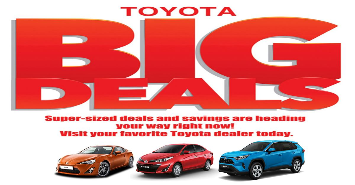 Toyota Cebu June 2019 Latest Promo