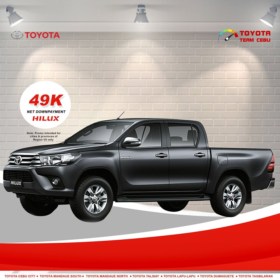 toyota hilux august 2019 promo