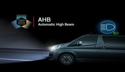 All New Hiace Super Grandia 2019 Automatic High Beam