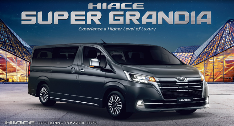 All New Hiace Super Grandia 2019
