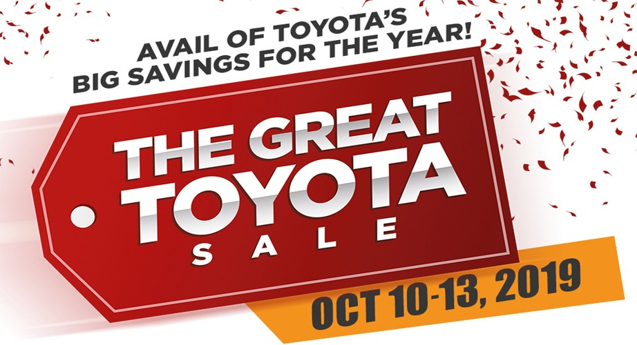 The Latest Promotions in Toyota Cebu Philippines for October 2019