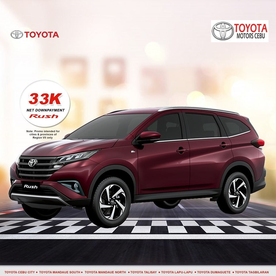 toyota rush october 2019 latest promotional offer in toyota philippines cebu