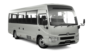 Toyota Coaster white 2020 Cebu Philippines latest prices & promotions