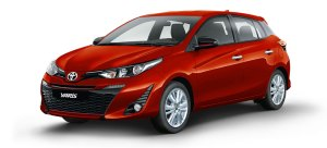 Toyota yaris Red Mica Metallic 2020 Cebu Philippines latest prices & promotions