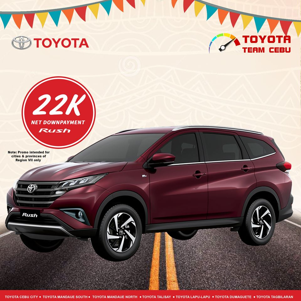 toyota rush january 2020 cebu promotion