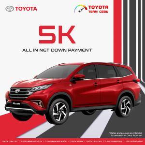 Toyota Rush January 2021 Promotion
