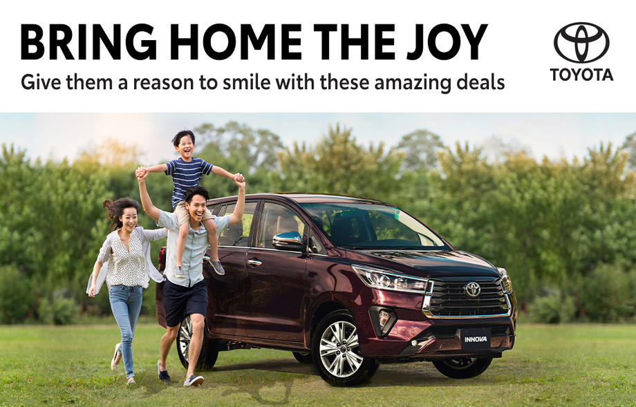 Toyota Motors Cebu April 2021 Promotions