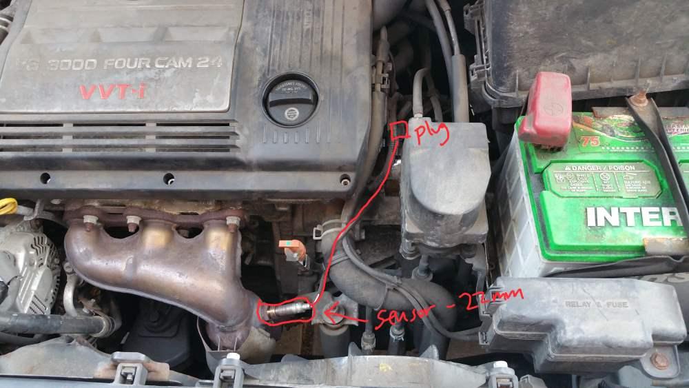 Toyota 2000 Fuel Avalon Location Pump