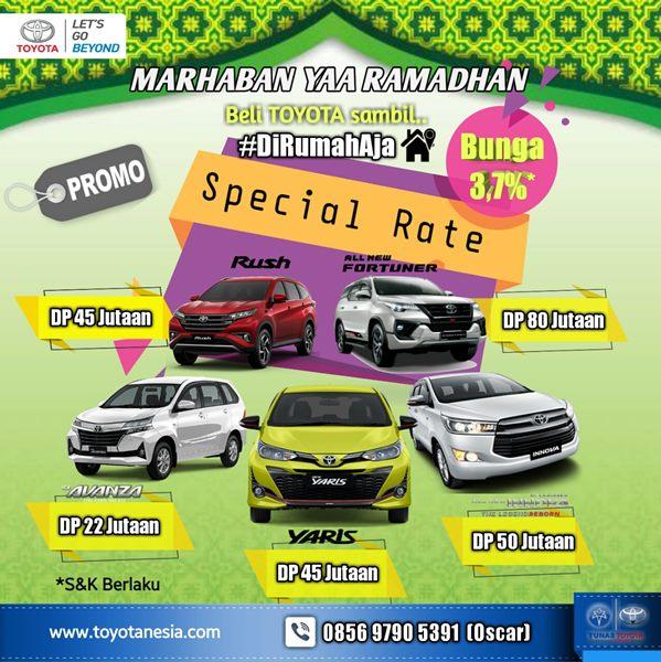 Promo Ramadhan Sale Toyota