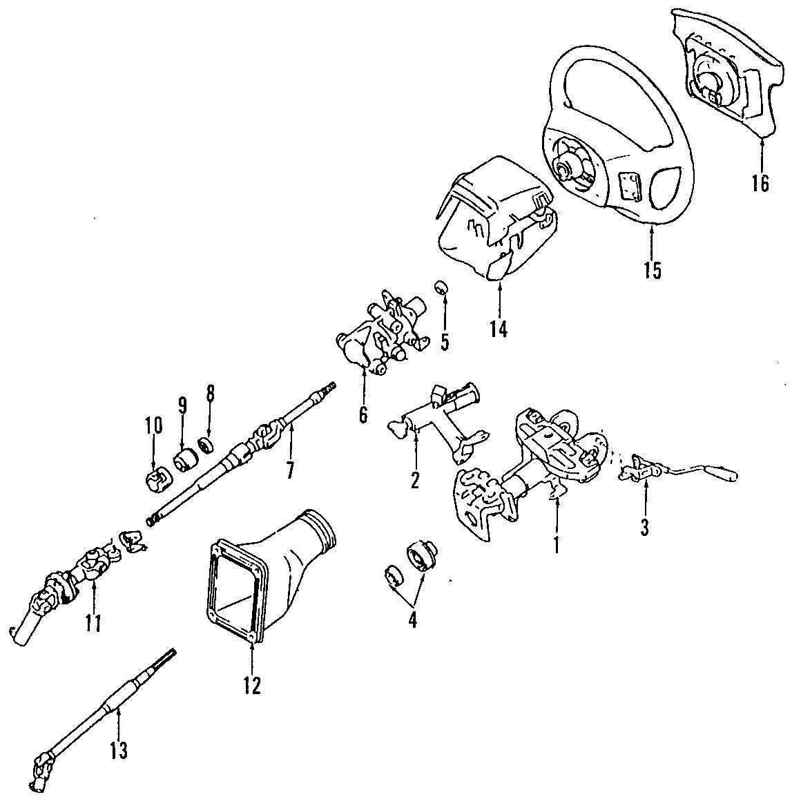 Toyota Rav4 Engine Oil Pressure Switch Electrical Sensor