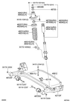 Rear Suspension Assembly  Toyota Nation Forum : Toyota