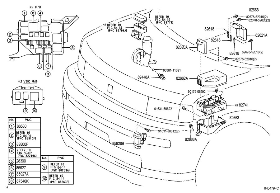 2011 scion xb horn diagram