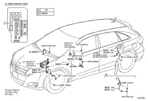 Wiring Diagram For A 2009 Toyota Venza   Wiring Diagram