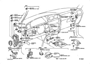 1989 Toyota Camry Tail Lights Wiring Diagram  Electrical