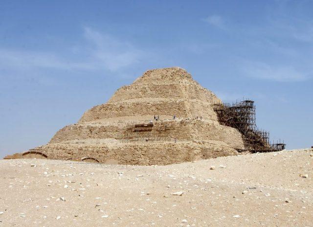 egypt piramide deserto egipto mastaba tomba UN'ALTRA TOMBADI OLTRE 4.400 ANNIAPERTA AL PUBBLICONELLA NECROPOLI DI SAQQARA