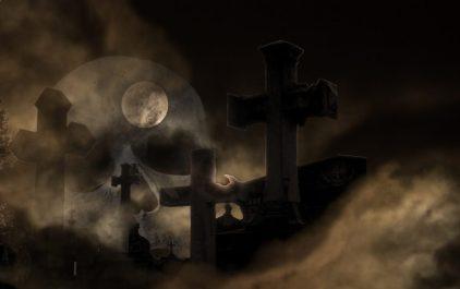 funebro tombe notte luna piena morte cimentero LE FAVE NELLA RELIGIONE ANTICA E MITOLOGIA