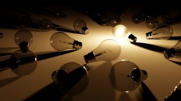 luz bombilla idea