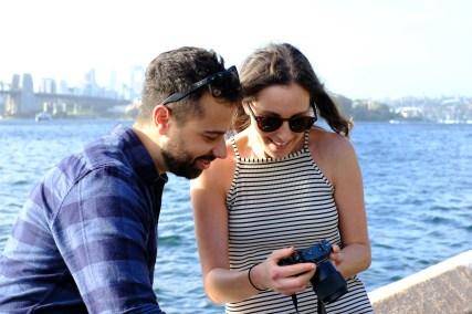 coppia felicità allegria
