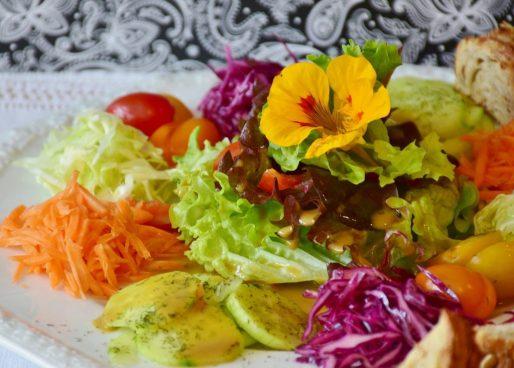 insalata vegetale saludabile vegano IN COSA CONSISTE LA DIETA VEGANA?