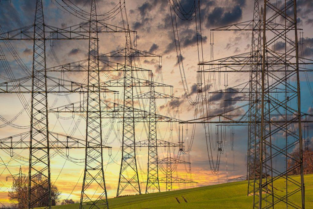 electricidad red eléctrica luz cables