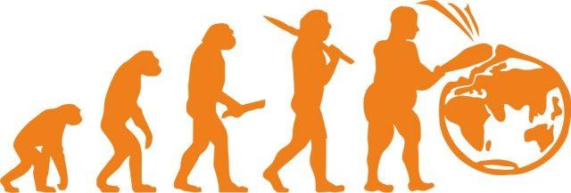 evolución hombre tierra  SOS TIERRA