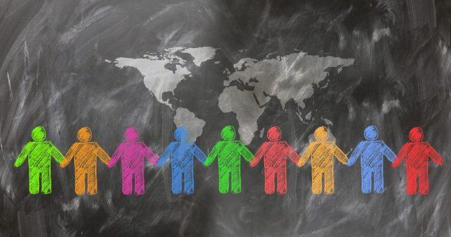 planeta juntos personas proteger naturaleza SOS TIERRA