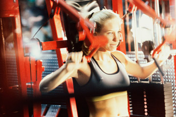 Use Exercise Machines - Copyright – Stock Photo / Register Mark