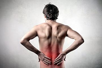 Back Falls & Pain - Copyright – Stock Photo / Register Mark