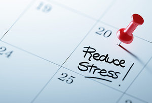 reduce stress - Copyright – Stock Photo / Register Mark