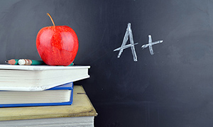 a+ grade - Copyright – Stock Photo / Register Mark