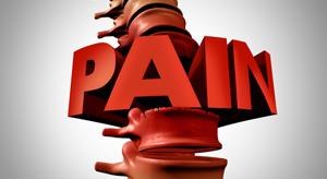 spine pain - Copyright – Stock Photo / Register Mark