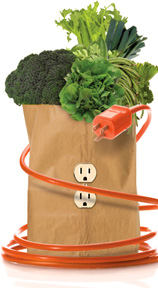 Plug into the power of green - Copyright – Stock Photo / Register Mark