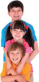 three children - Copyright – Stock Photo / Register Mark