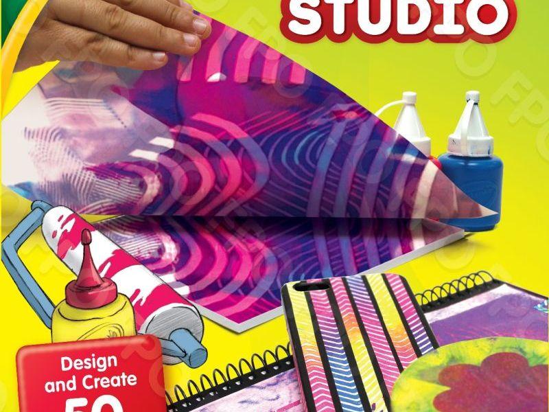 Crayola sticker design studio