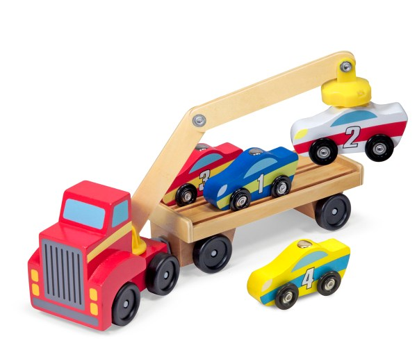 Magnetic car loader from Melissa and Doug