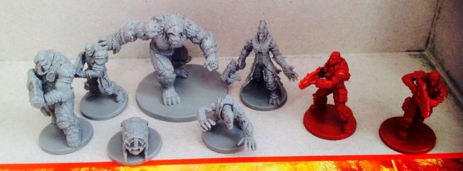 gears of war figurines