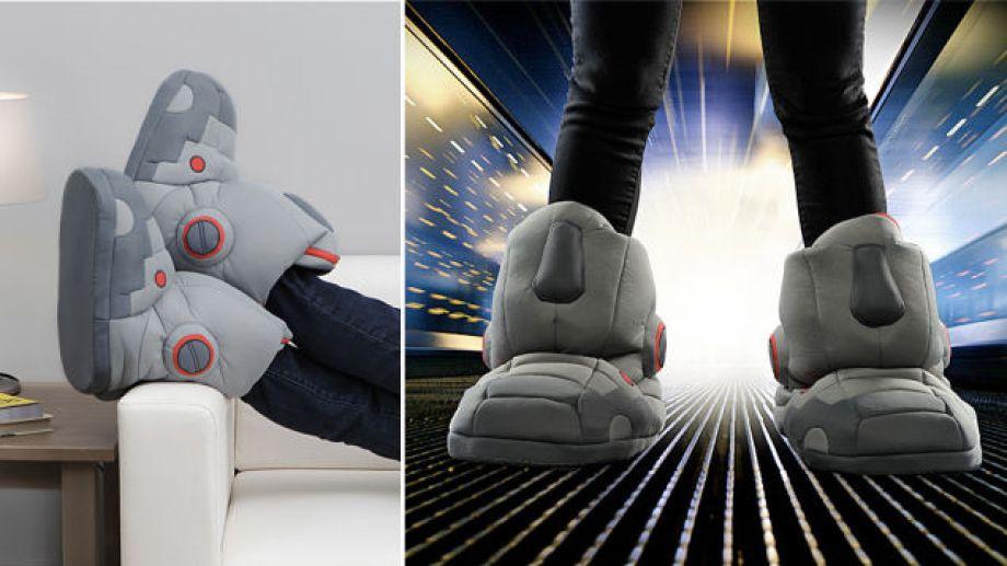 Tom's Selec - pantoufles robot