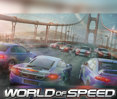 Worlf of Speed - Gamescom 2014 TeamRacing Art