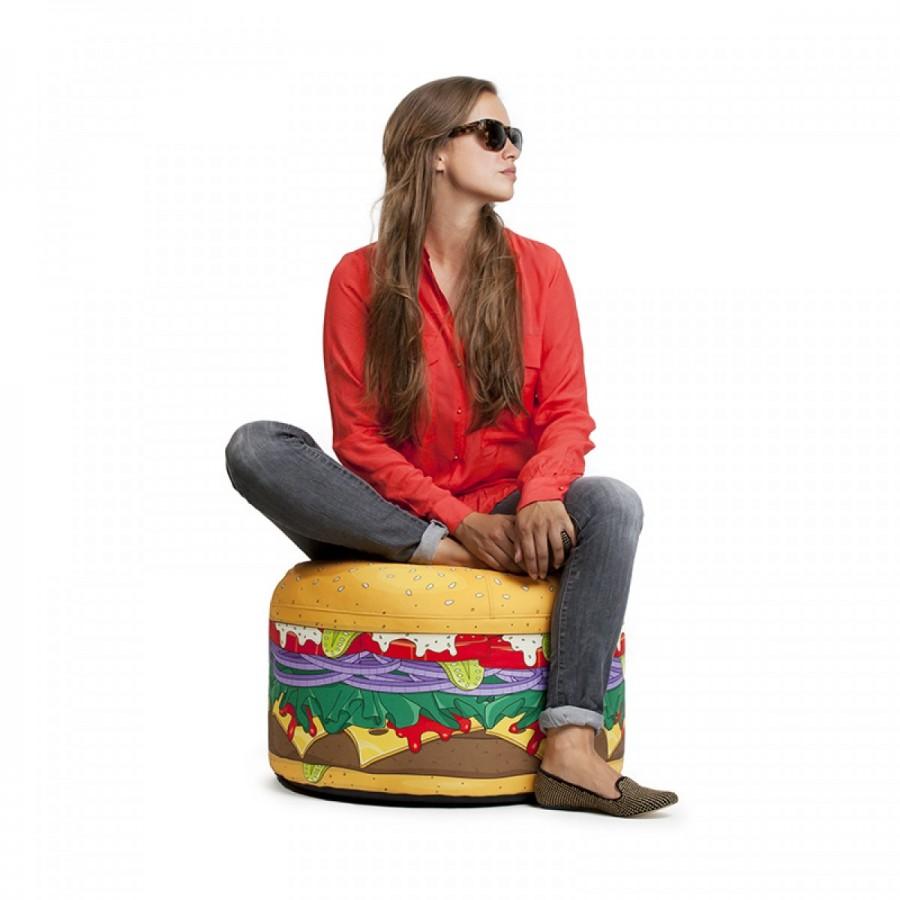 Tom's Selec - pouf burger