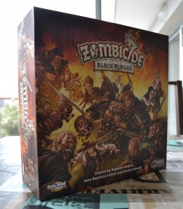 Boite de jeu Zombicide Black Plague