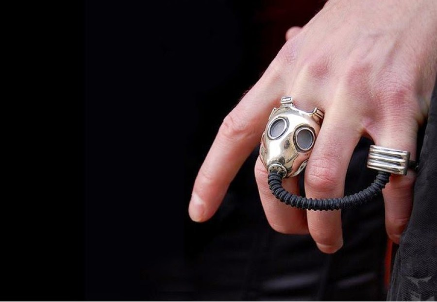 Tom's Selec - bague masque à gaz