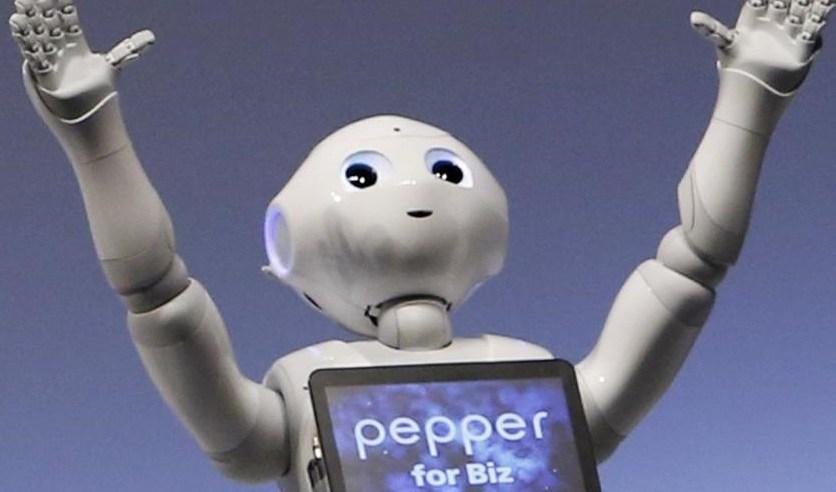 pepper le premier robot h tesse d 39 accueil toysandgeek. Black Bedroom Furniture Sets. Home Design Ideas