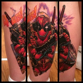 Andy Walker Tattoo best of tattoo geek peau deadpool marvel