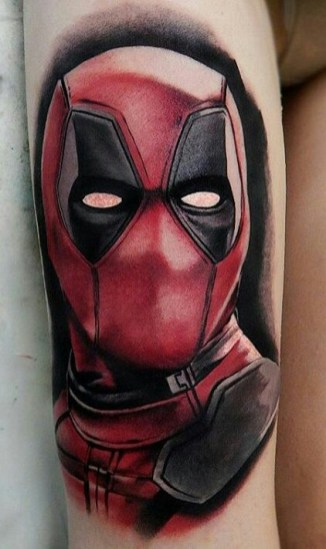 Basalt Tattoo best of tattoo geek peau deadpool marvel