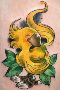 Cammiyu geek peau best of tattoo final fantasy chocobo