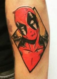 Unknown Tattoo best of tattoo geek peau deadpool marvel