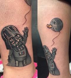 Dominick Cali best of tattoo star wars darth vader